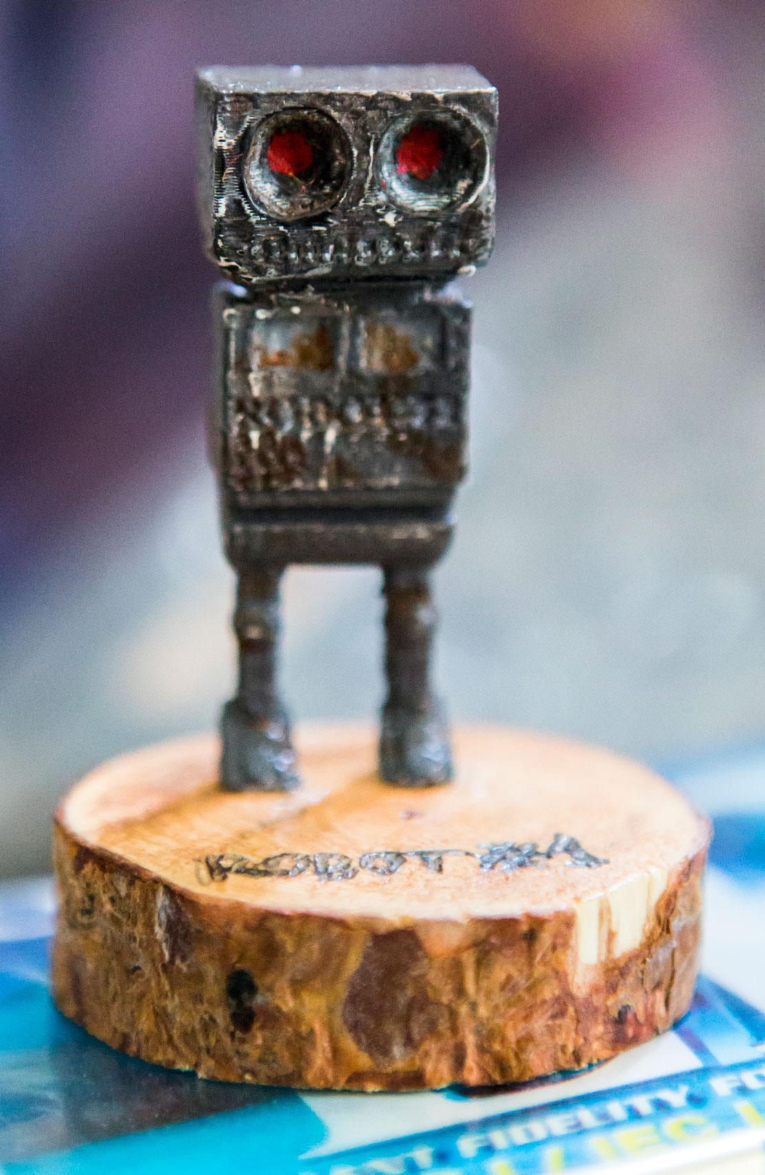 Robot #1 - Sculpture and 3D print